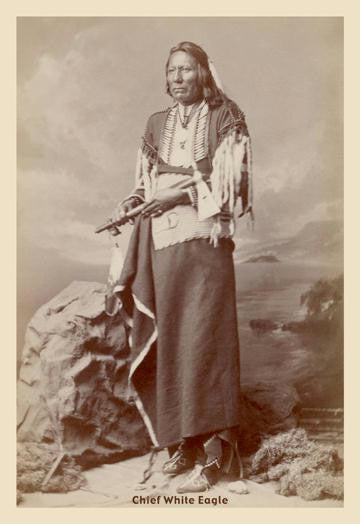 Chief White Eagle 20x30 poster
