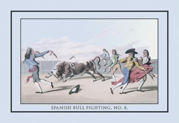 Spanish Bull Fighting, No. 8 20x30 poster