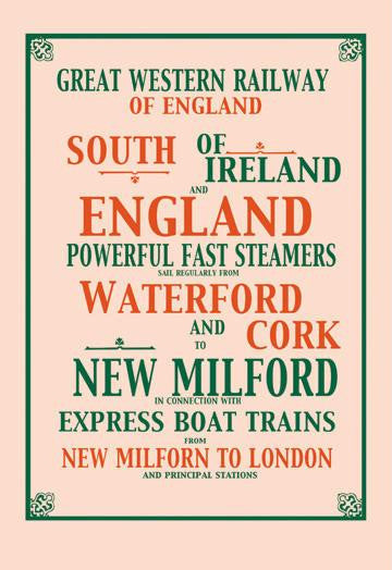 Great Western Railway 20x30 poster