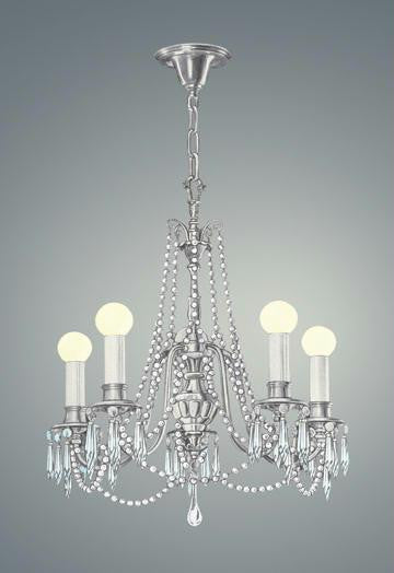 Chandelier With Lights 20x30 poster