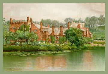 The Old Manor House 20x30 poster