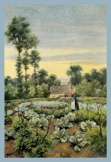 Old Garden at Welford 20x30 poster