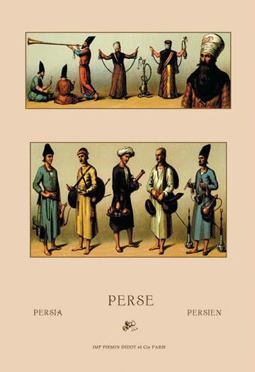 Traditional Dress of Persia #2 20x30 poster