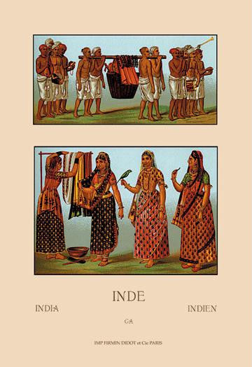 A Variety of Indian Ceremonial Garb #2 20x30 poster