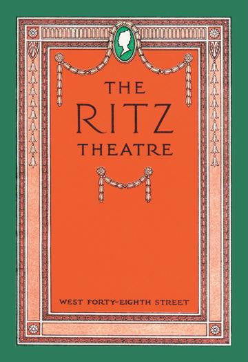 The Ritz Theatre 20x30 poster
