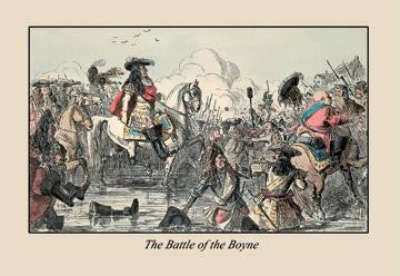 The Battle of the Boyne 20x30 poster