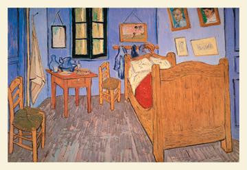 Bedroom at Arles 20x30 poster