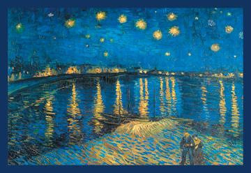 Night at the Rhone 20x30 poster