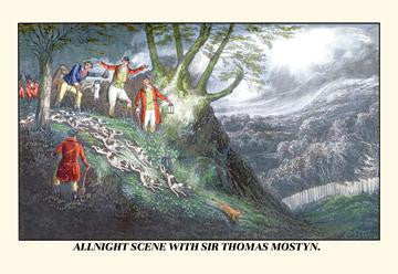 All Night Hunt with Sir Thomas Mostyn 20x30 poster