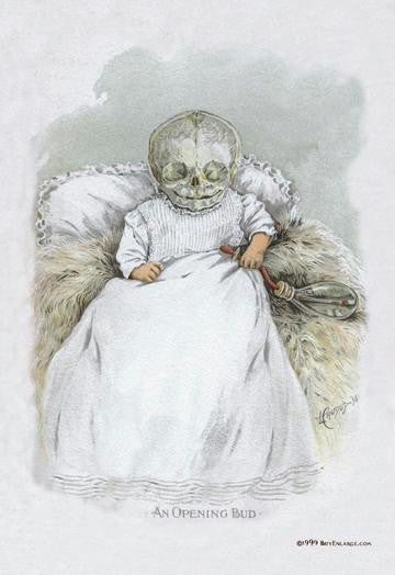 Death in Swaddling Clothing 20x30 poster