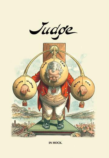 Judge: England in Hock 20x30 poster