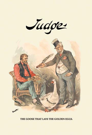 Judge: The Goose That Lays the Golden Eggs 20x30 poster