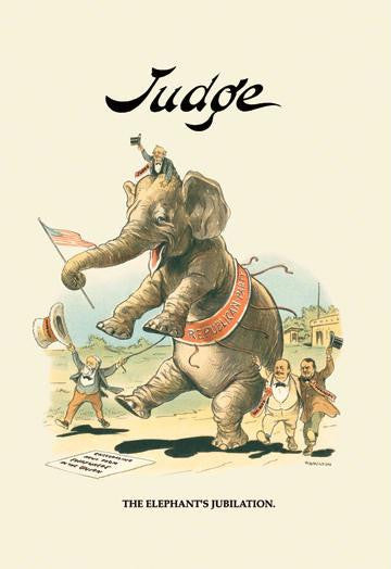 Judge: The Elephant's Jubilation 20x30 poster