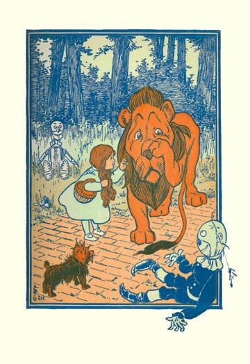 The Cowardly Lion 20x30 poster