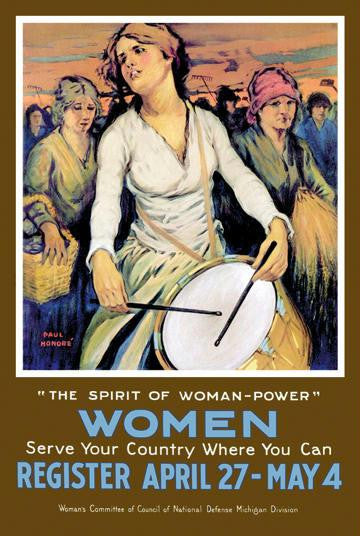 The Spirit of Woman-Power 20x30 poster