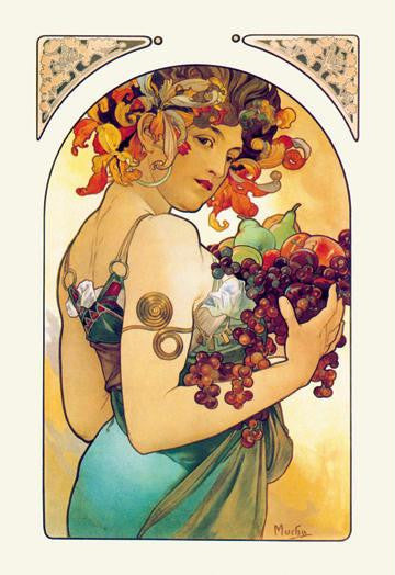 Fruit 28x42 Giclee on Canvas