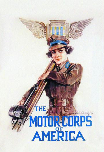 The Motor-Corps of America 28x42 Giclee on Canvas