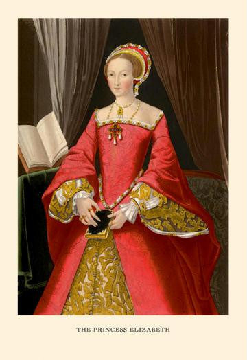 The Princess of Elizabeth 28x42 Giclee on Canvas
