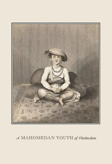 A Mahomedan Youth of Distinction 12x18 Giclee on canvas