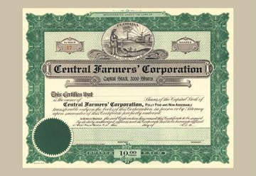 Central Farmers' Corporation 12x18 Giclee on canvas