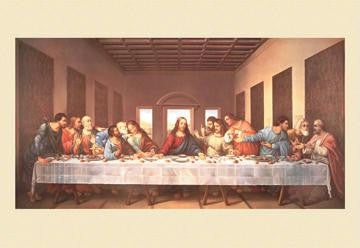 The Last Supper 12x18 Giclee on canvas