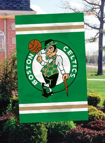 AFCEL Boston Celtics 44x28 Applique Banner