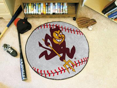 Arizona State University Baseball Rug