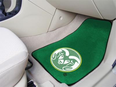 Colorado State University 2 Piece Front Car Mats