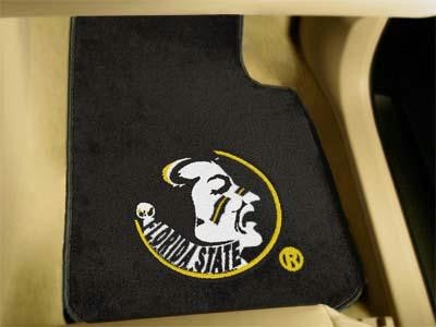 Florida State University 2 Piece Front Car Mats