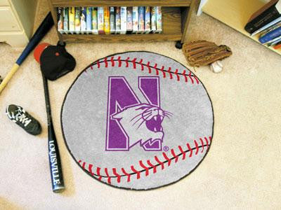 Northwestern University Baseball Rug