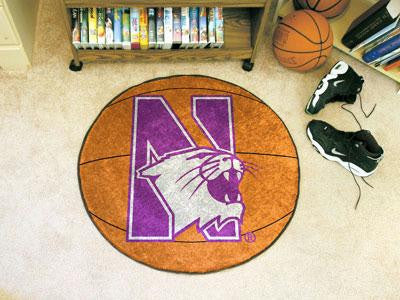 Northwestern University Basketball Rug