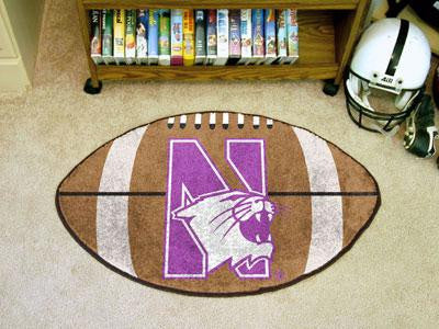 Northwestern University Football Rug