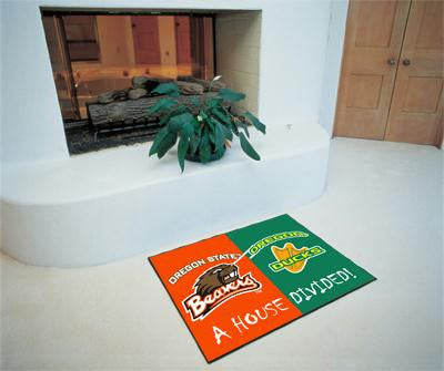 Oregon - Oregon State All-Star House Divided Rug