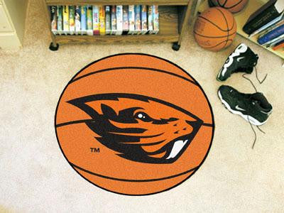 Oregon State University Basketball Rug