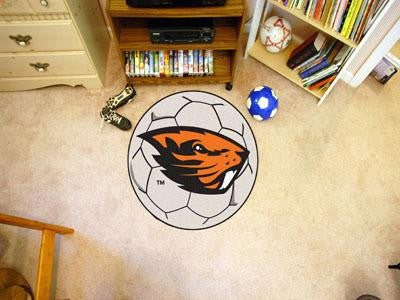 Oregon State University Soccer Ball Rug