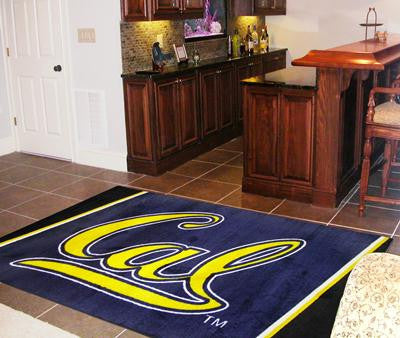 California - Berkeley UC University of  5 x 8 Rug