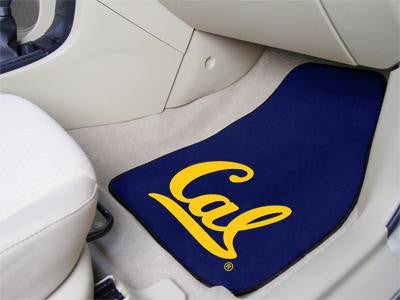 California - Berkeley UC University of 2 Piece Front Car Mats