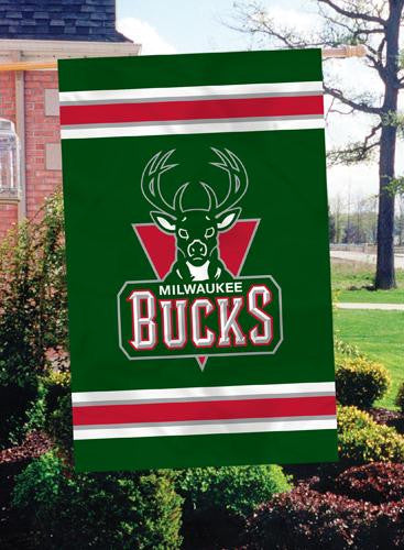 AFBUC Milwaukee Bucks 44x28 Applique Banner