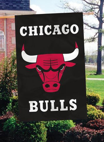 AFBUL Chicago Bulls 44x28 Applique Banner