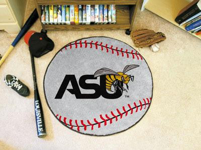 Alabama State University Baseball Rug