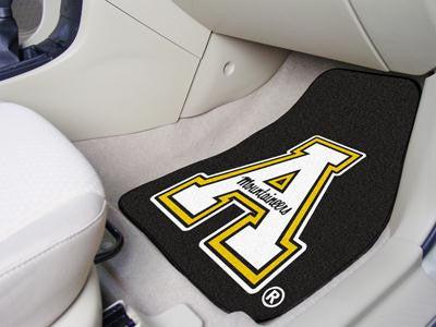 Appalachian State 2 Piece Front Car Mats