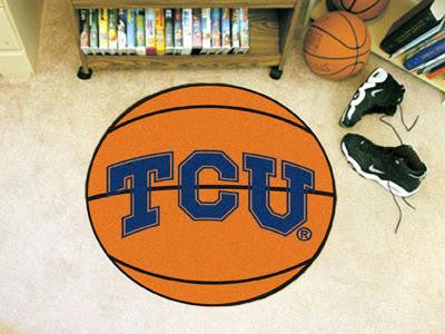Texas Christian University  Basketball Rug
