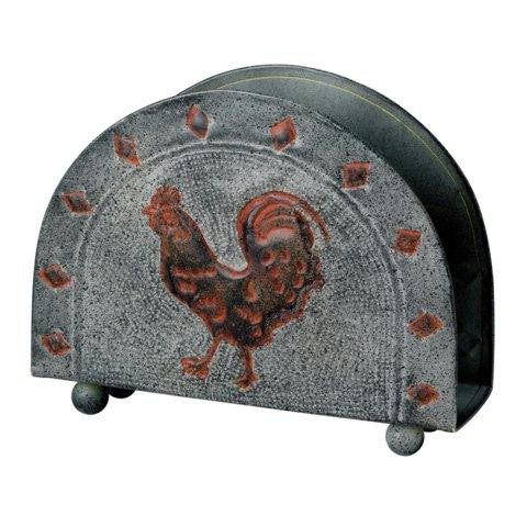 6  x 2 x 5 Rooster Napkin Holder