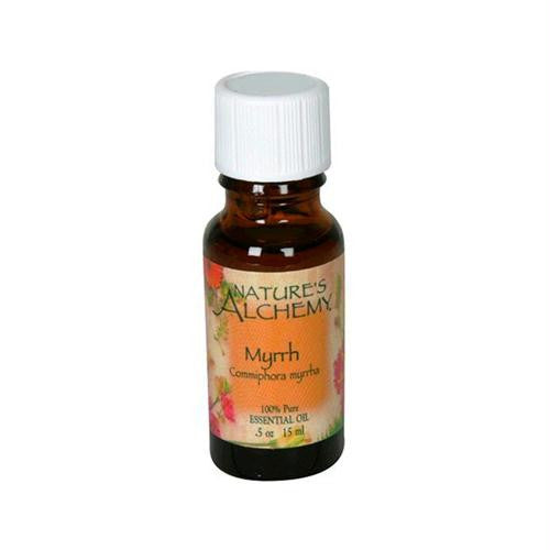 Natures Alchemy 100% Pure Essential Oil Myrrh - 0.5 fl oz