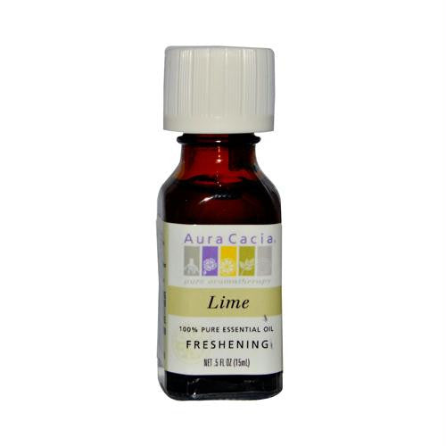 Aura Cacia Pure Essential Oil Lime - 0.5 fl oz