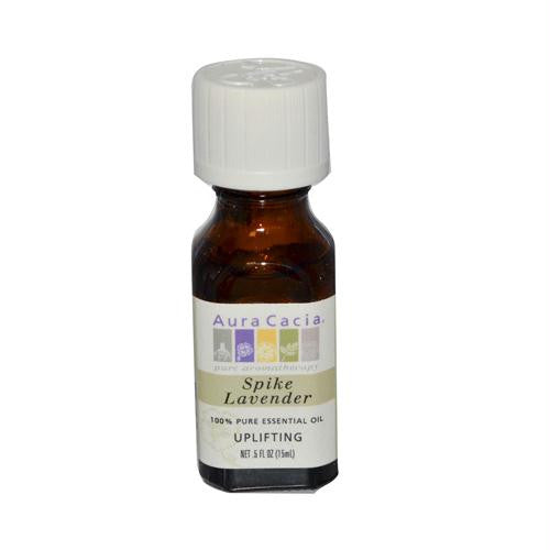Aura Cacia Pure Essential Oil Spike Lavender - 0.5 fl oz