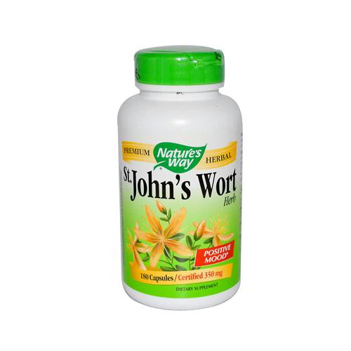 Natures Way St Johns Wort Herb - 180 Capsules