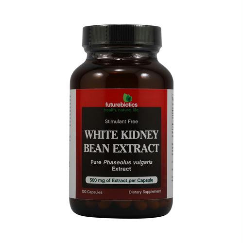 FutureBiotics White Kidney Bean Extract - 500 mg - 100 Capsules
