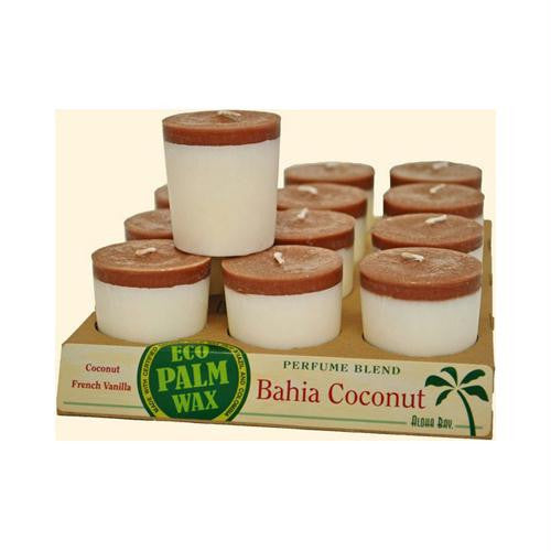 Aloha Bay Votive Candle - Bahia Coconut - Case of 12 - 2 oz