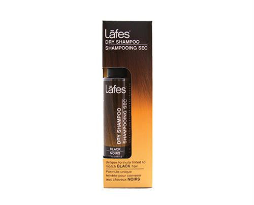 Lafes Natural Body Care Natural Dry Shampoo - Black - 1.7 oz